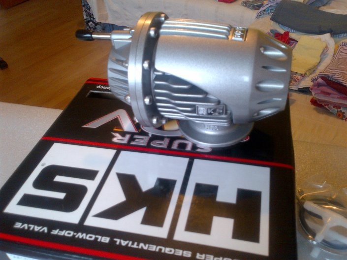 Genuine HKS SSQ 4 BOV